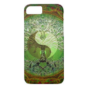 Yin Yang Tree of Life Green iPhone 7 Case (<em>$31.65</em>)