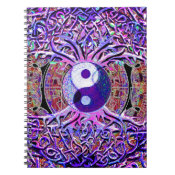 Yin Yang Tree of Life Spiral Notebook (<em>$13.70</em>)