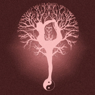 Yin Yang Tree Of Life Keychains Lanyards Zazzle