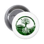 Yin Yang Tree Pinback Button