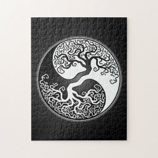 Yin Yang Tree Puzzle