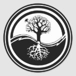 Yin Yang ~ Tree Sticker