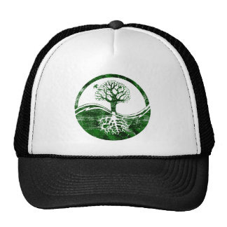 Yin Yang Tree Trucker Hat