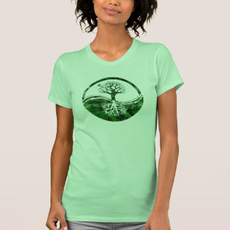 Yin Yang Tree T-shirts