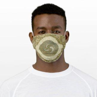 Yin Yang, Tri Yang Meditation Cloth Face Mask