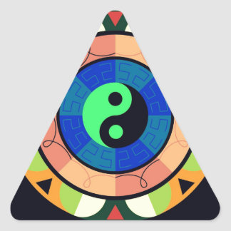 Yin Yang ! Triangle Sticker