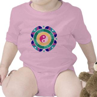 Yin Yang ! Baby Bodysuits