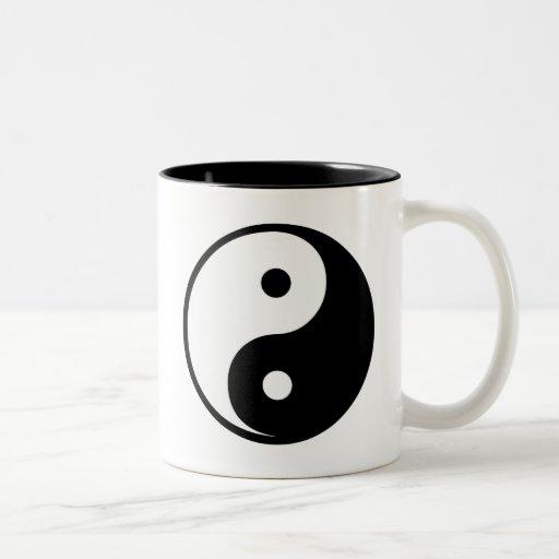 Yin Yang Two-Tone Coffee Mug
