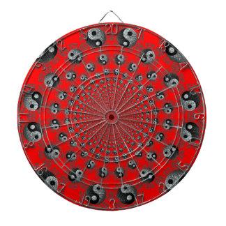 Yin Yang Universe Dart Board