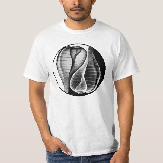 Yin-Yang using X Ray Fig Shell, Ficus ficus T-Shirt