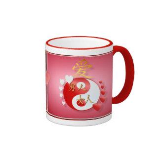 Yin-Yang Valentine Mugs