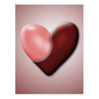 Yin & Yang Valentine Postcard