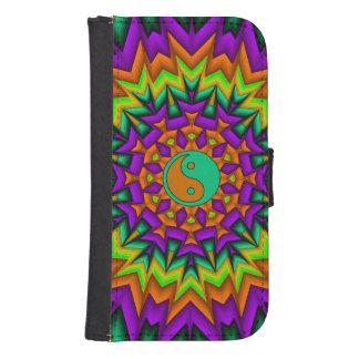 Yin Yang Vibrance Galaxy S4 Wallet Case