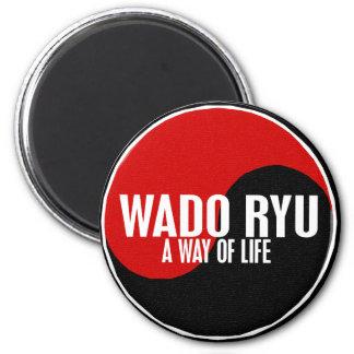 Yin Yang Wado Ryu 1 Refrigerator Magnet