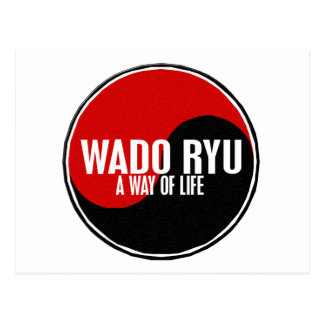 Yin Yang Wado Ryu 1 Postcard
