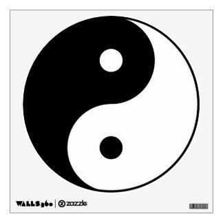 yin yang wall decal