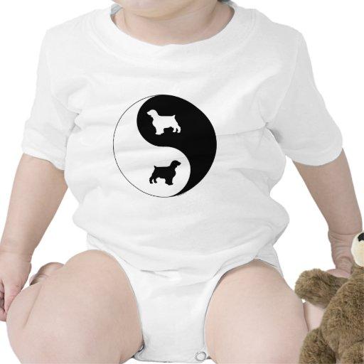 Yin Yang Welsh Springer Baby Creeper