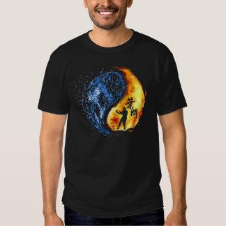 """Yin Yang - Wing Chun """"KungFu"""" Ip Man T Shirts"""