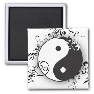 Yin-Yang with scrolling Magnets