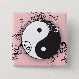 Yin-Yang with scrolling Pinback Button