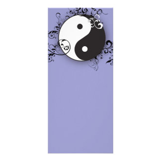 Yin-Yang with scrolling Rack Card