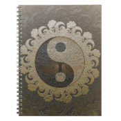 Yin Yang with Tree of Life by Amelia Carrie Notebook (<em>$13.70</em>)