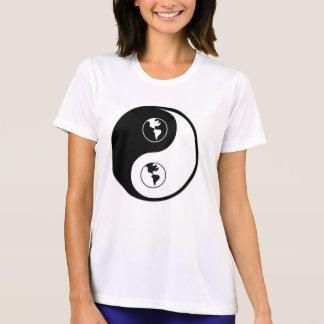 Yin Yang World Domination Tee Shirts