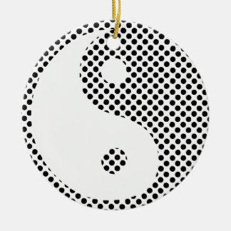 Yin Yang Xmas Ornament