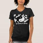 Yin Yang y camiseta joven de la familia