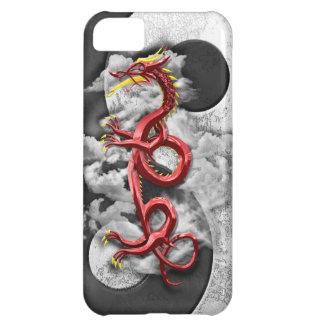 Yin Yang y dragón Funda Para iPhone 5C