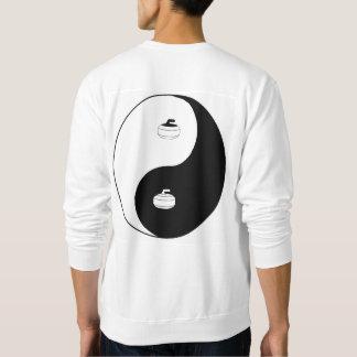 Yin Yang y zen de encresparse Sudadera