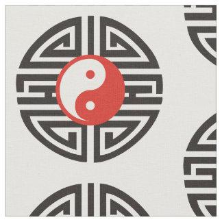 Yin & Yang Yantra Tattoo + your background & ideas Fabric