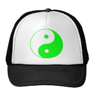 Yin Yang Ying Taoism Sign Chinese Taijitu Green Hats