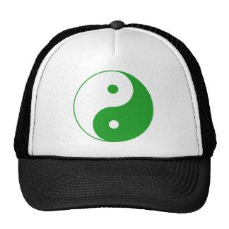 Yin Yang Ying Taoism Sign Chinese Taijitu Mesh Hats
