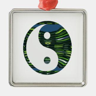 YIN YANG YINyang balance chinese symbol NVN248 Christmas Ornaments