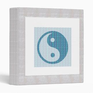 YIN YANG YinYang Balance Chinese Symbol Oriental A 3 Ring Binder