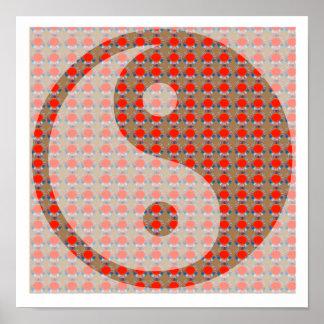 YIN YANG YinYang Balance in Life  by NAVIN JOSHI Poster