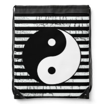 yin-yang yoga meditation drawstring bag