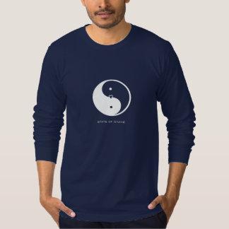 Yin Yang Yoga Men's Long-Sleeve Jersey T-Shirt