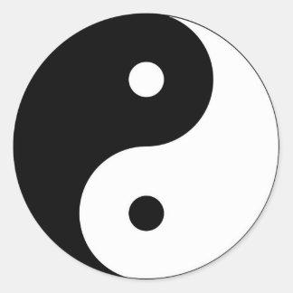 Yoga Symbol Stickers | Zazzle