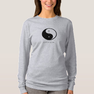 Yin Yang Yoga Women's Long-Sleeve T-Shirt