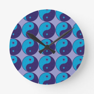 yin yang zen meditation tao wall clocks