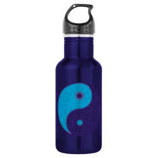 yin yang zen meditation tao 18oz water bottle