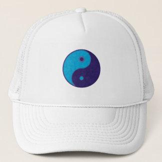 yin yang zen meditation tao trucker hat