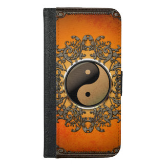 Ying and yang iPhone 6/6s plus wallet case