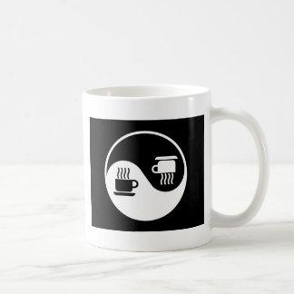 Ying and Yang of Coffee Classic White Coffee Mug