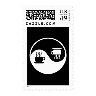 Ying and Yang of Coffee Stamps