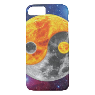 Ying and yang phone case