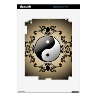 Ying and yang decal for the iPad 2