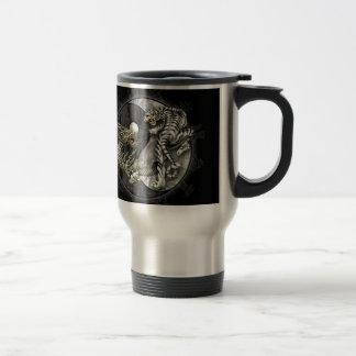 Ying and Yang Tiger Travel Mug